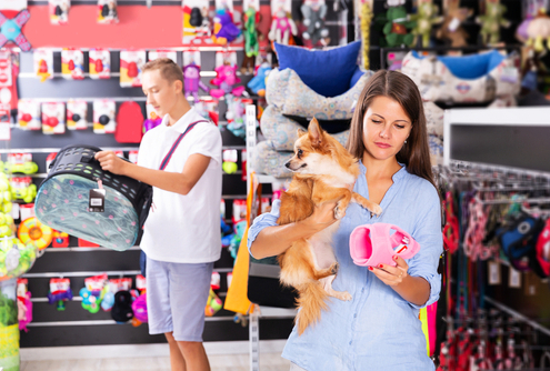 Dog Etiquette Visiting Pet Stores