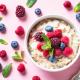 Tuesday's Treat Berry Egg Oatmeal