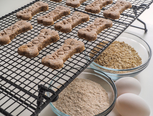 Tuesday's Treat Simple Dog Biscuits