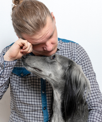 Your Dog Knows When You Are Upset